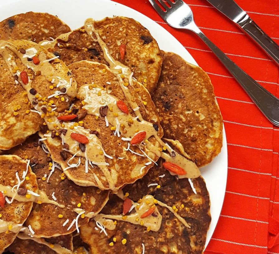 Healthy High-Protein Pancakes
