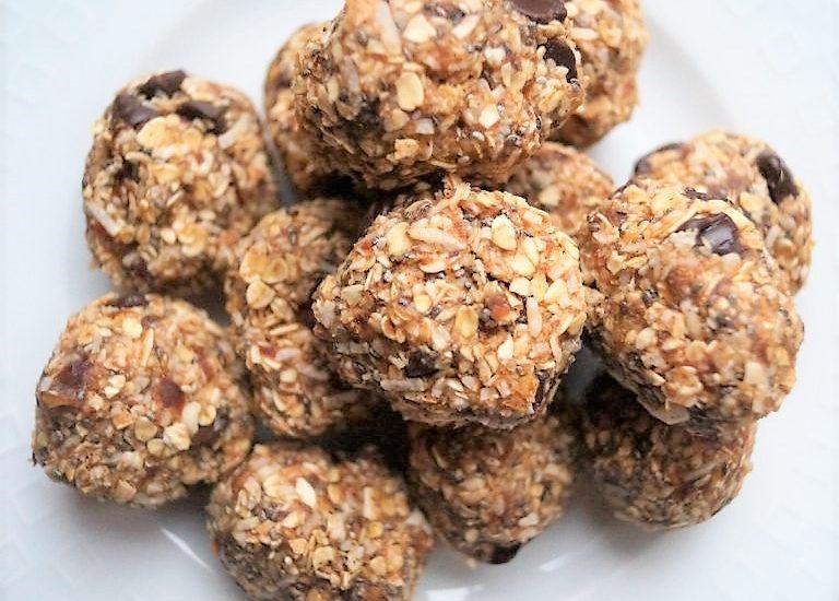Coconut Energy Balls (Vegan, Gluten-free, Egg-free, Dairy-free)
