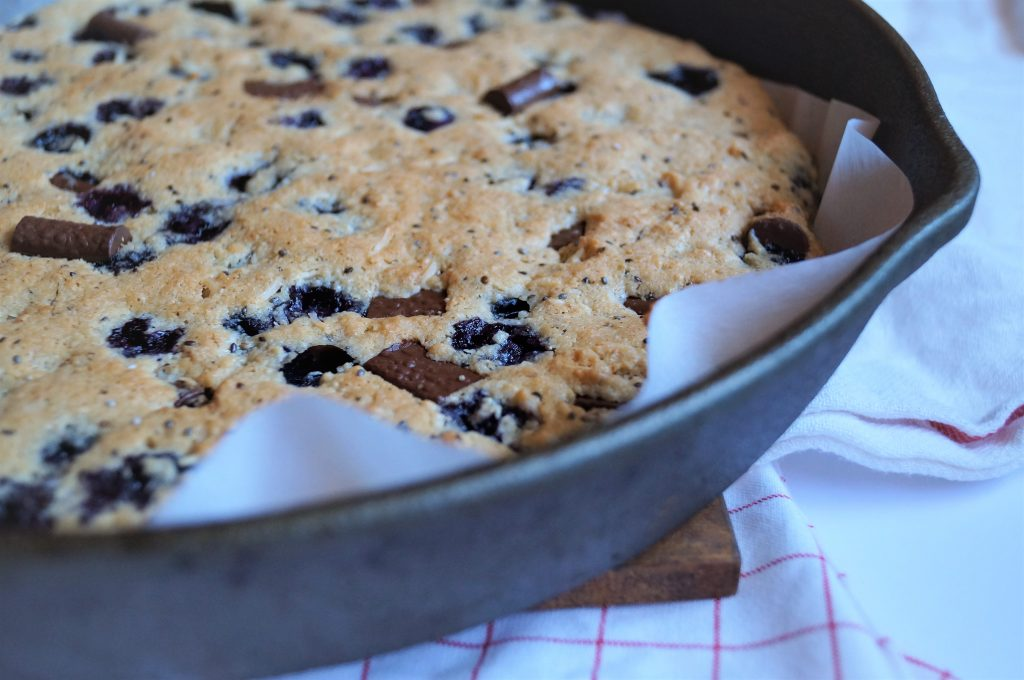 Blueberry Maple Pizookie