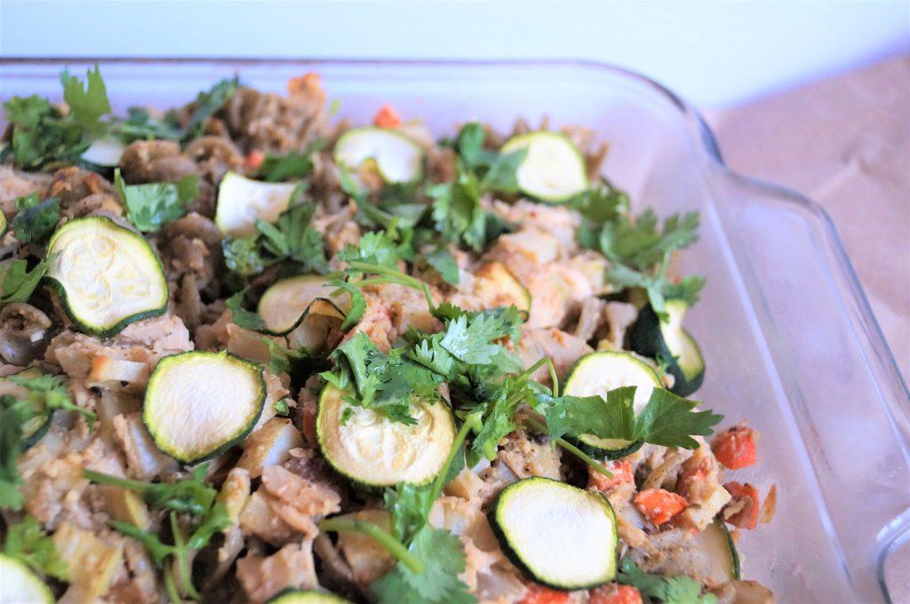 Healthy Dairy-free Tuna Casserole