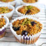 1 Bowl Grain-Free Blueberry Muffins (Keto, Gluten-Free + Dairy-Free)