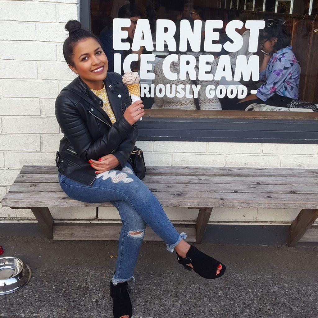 Earnest Ice Cream, Vancouver, British Columbia.