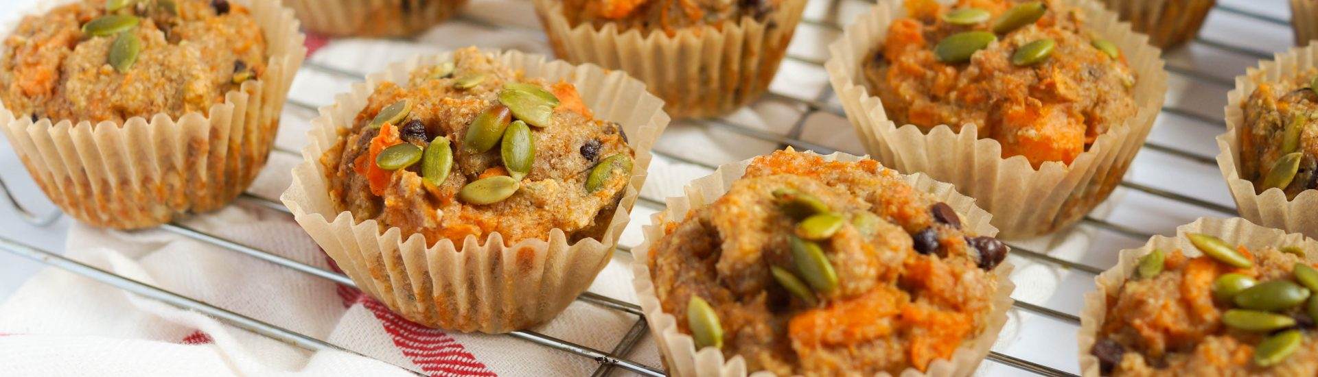 Healthy Sweet Potato Muffins (Dairy-free)