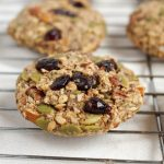 Trail Mix Cookies (Dairy-free, Vegan-friendly, Gluten-free)