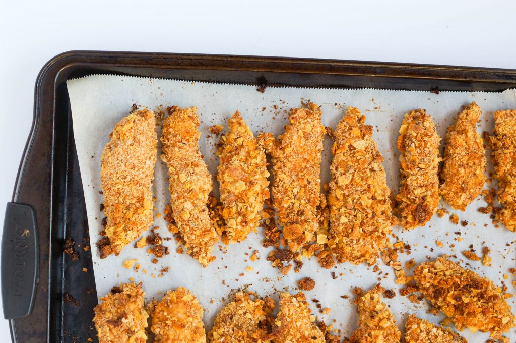 Spicy Oven Baked Chicken Tenders