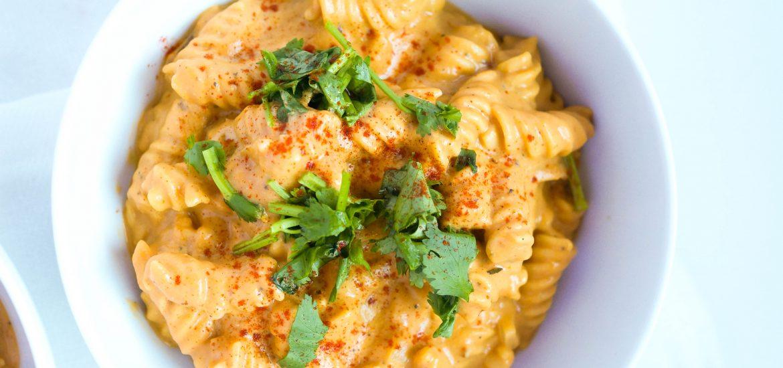 Creamy Vegan Pumpkin Pasta (Gluten-free, Whole 30 compliant, Dairy-free, Grain-Free, Soy-free, Sugar-free)