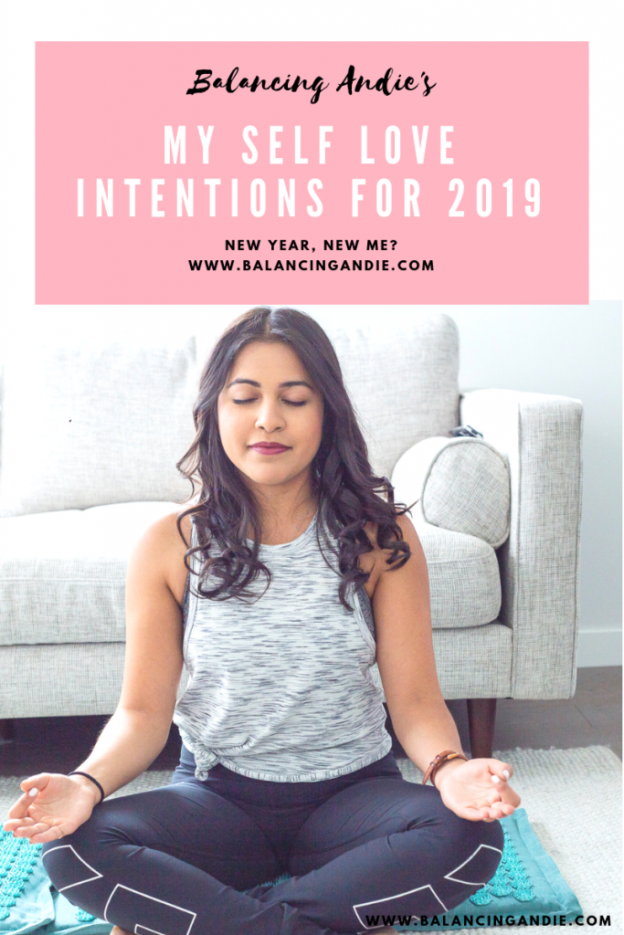 My Self Love Intentions for 2019
