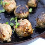 Whole 30 Vietnamese Meatballs (Dairy-free, Gluten-free, No fillers, Grain-free) Delicious flavourful meatballs that are moist & contain 0 fillers.
