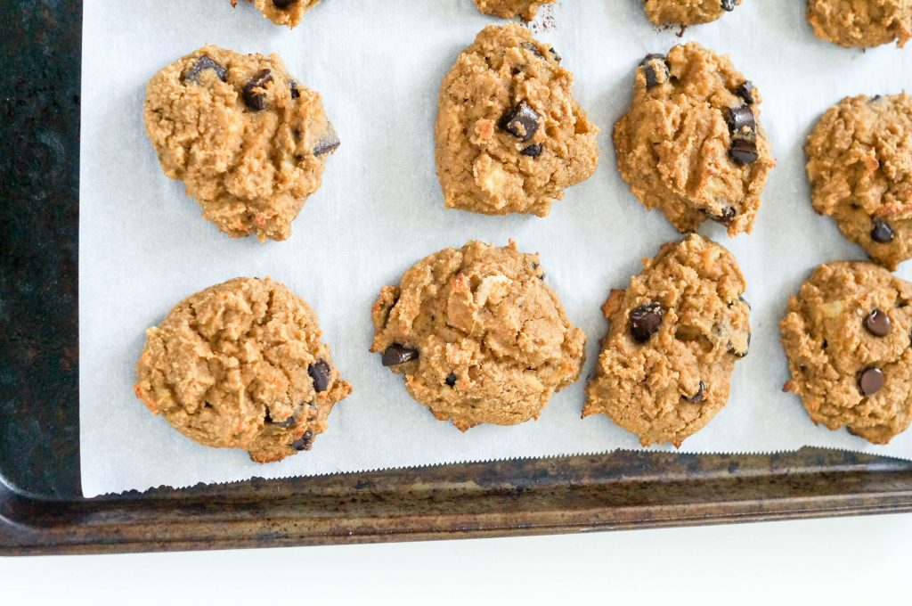 Grain-free Chocolate Chip Banana Bread Cookies