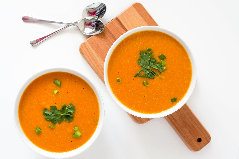 Vegan Thai Butternut Squash Soup