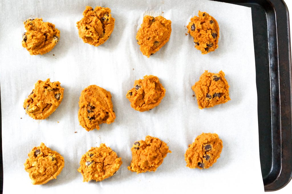 Grain-Free Soft Pumpkin Chocolate Cookies