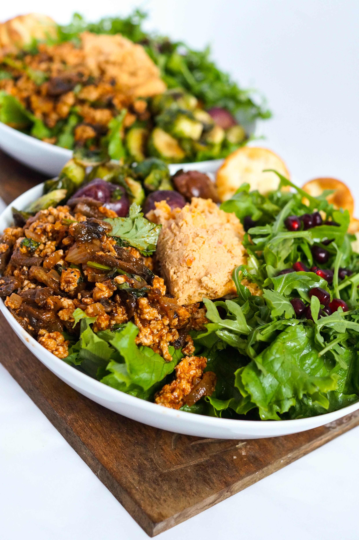 High Protein Chicken Lettuce Wraps