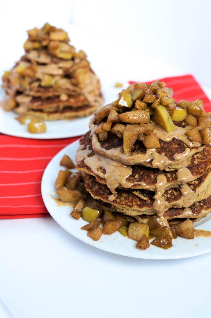 Gluten-free Apple Pie Pancakes