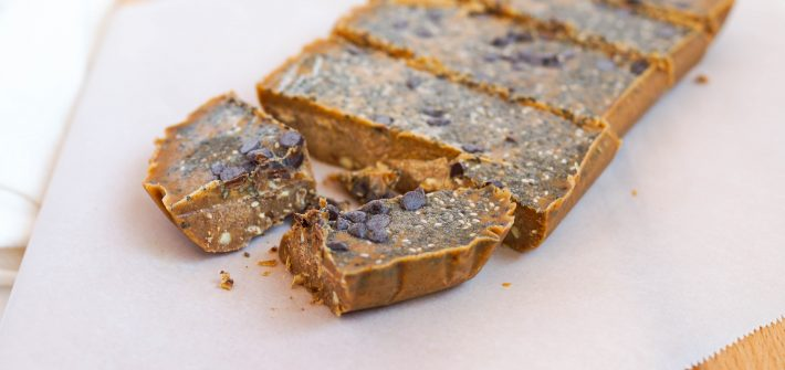 Almond Butter Freezer Fudge (Vegan, Keto, Gluten-free, Low Sugar, No Sugar, Whole 30)
