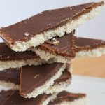 Healthy Dessert: Coconut Chocolate Bounty Bars (No Bake, Vegan, Dairy-free, Gluten-free, Soy-free, Refined Sugar-free)