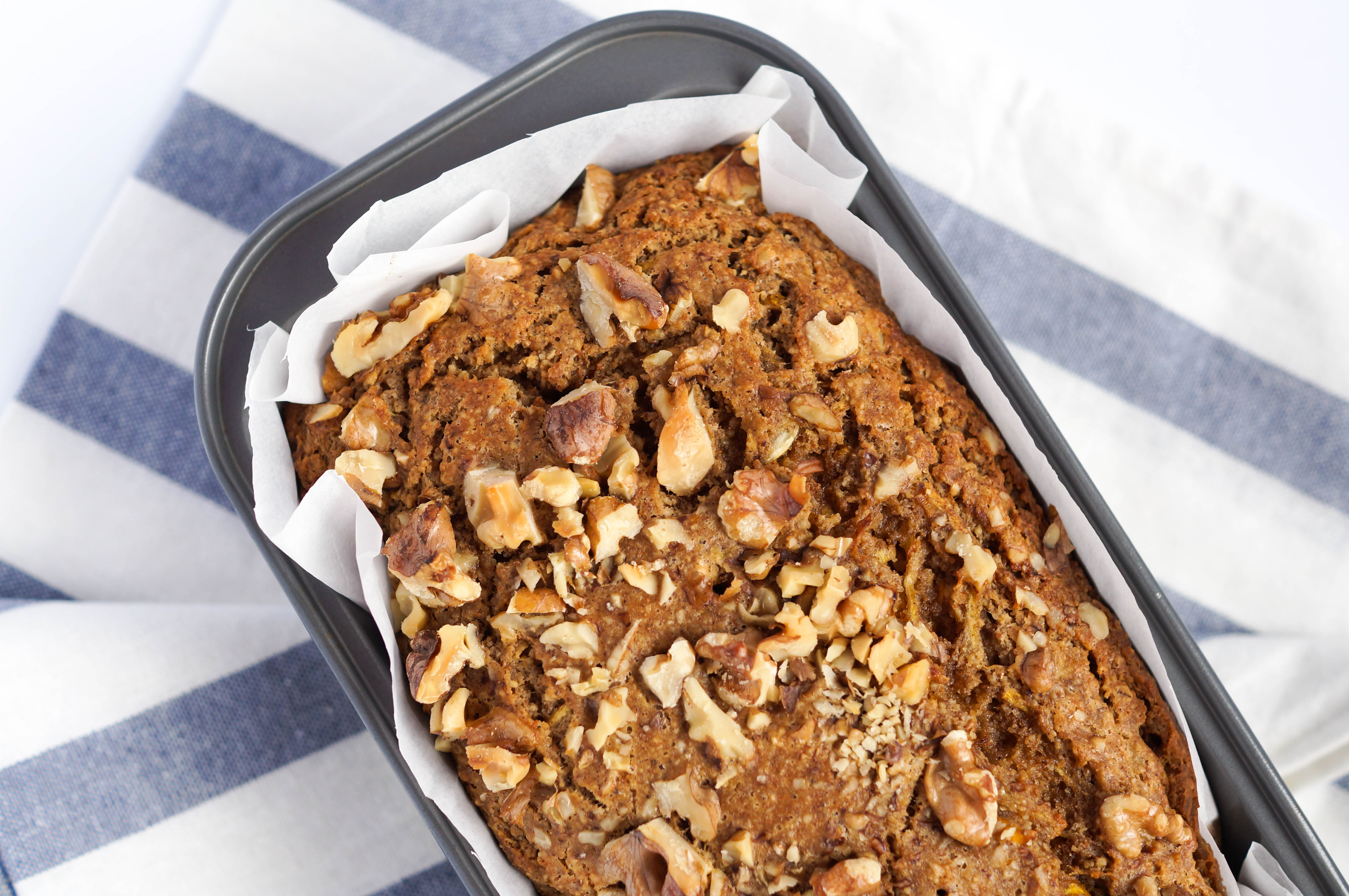 Healthy Breakfast Zucchini Bread (Dairy-free, Soy-free & No Refined Sugar)