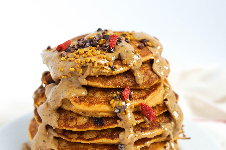 Sweet Potato Gluten-Free Pancakes (Grain-free & Dairy-free)