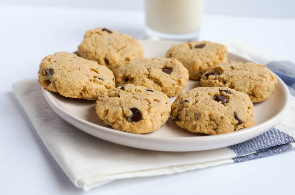 Soft Paleo Chocolate Chip Cookies