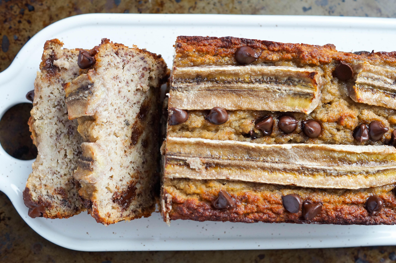 Paleo Coconut Flour Banana Bread