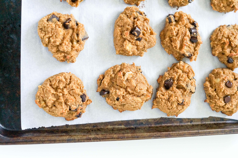 Grain-free Chocolate Chip Banana Bread Cookies
