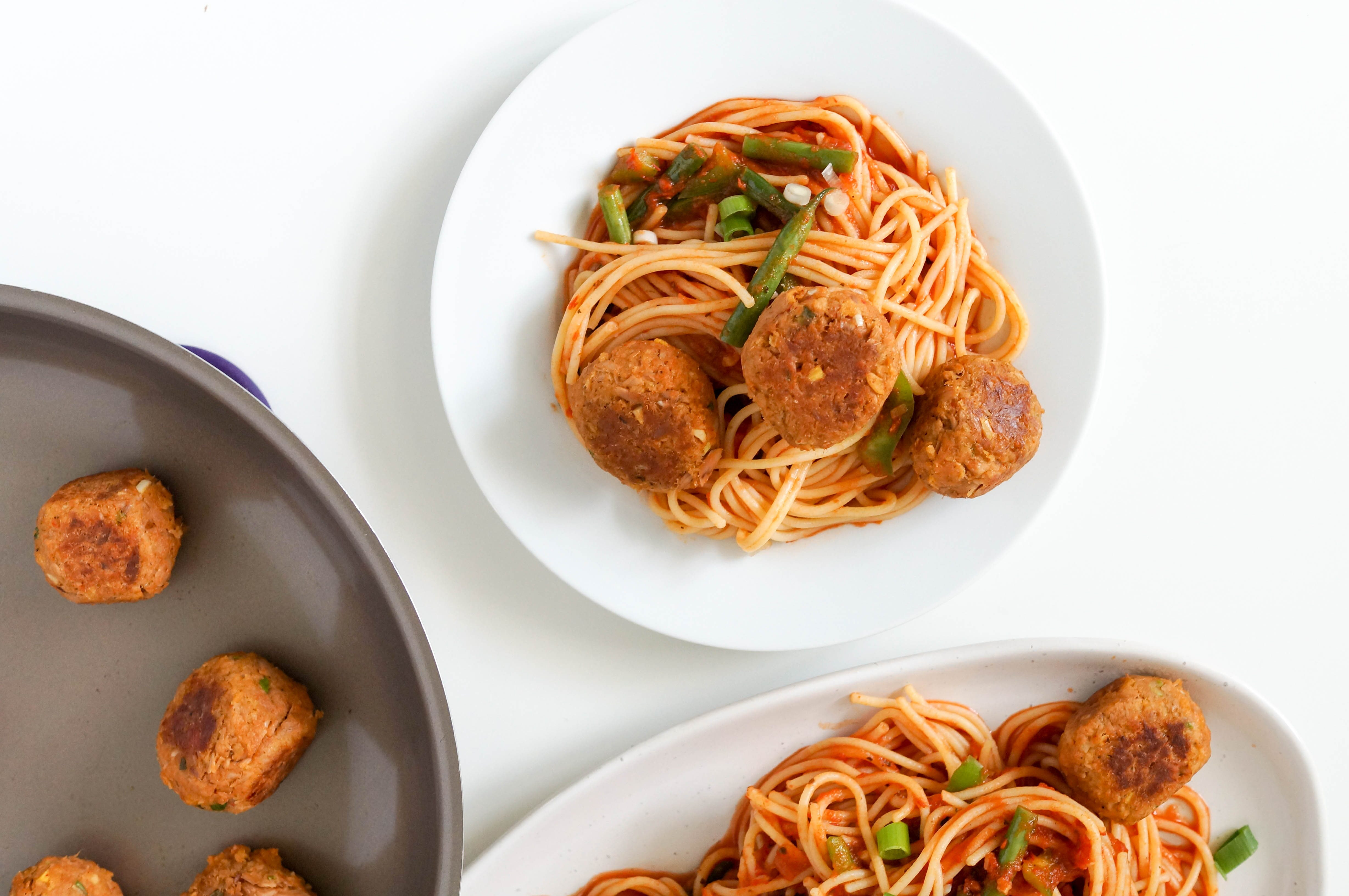 Quick and Easy Spicy Thai Tuna Meatballs