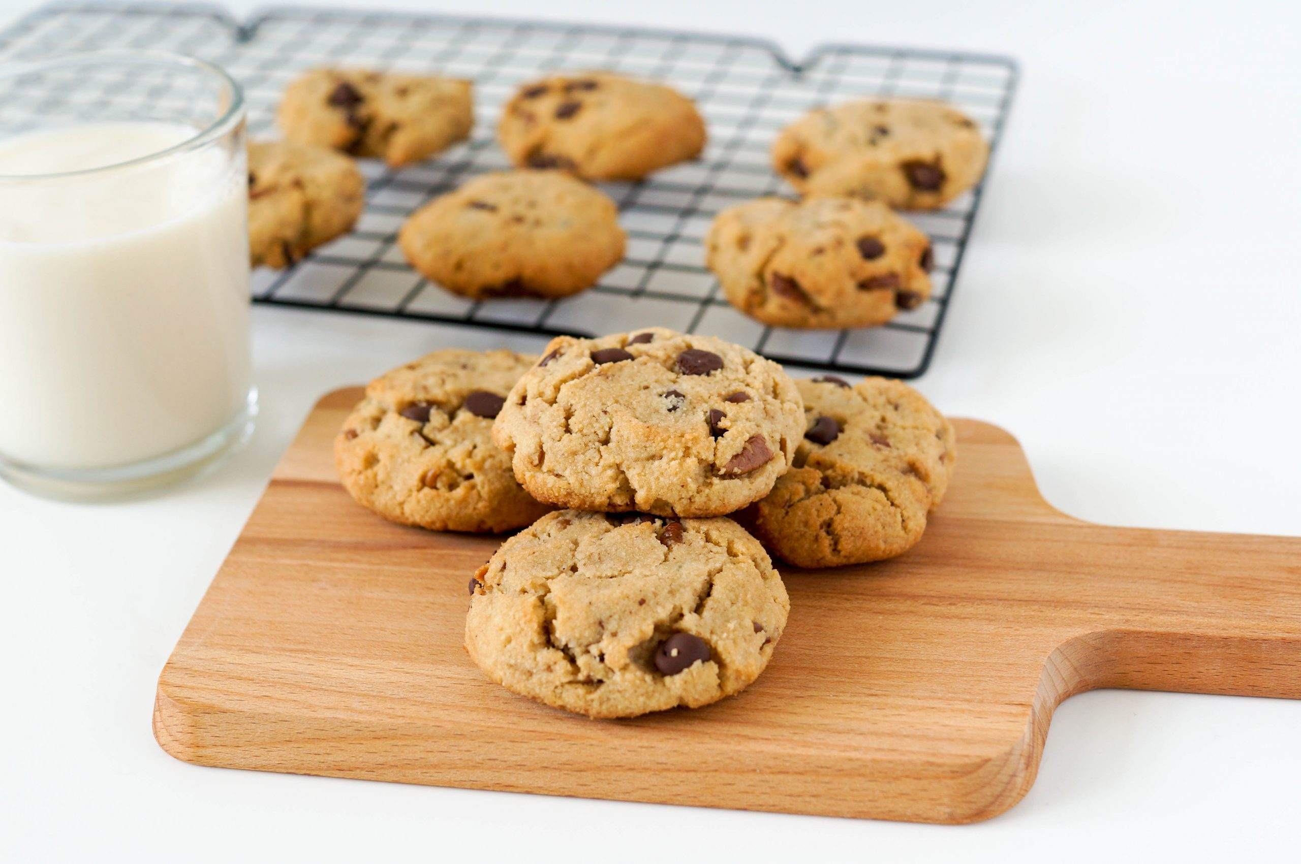 Ultimate Soft & Gluten-free Chocolate Pecan Cookies