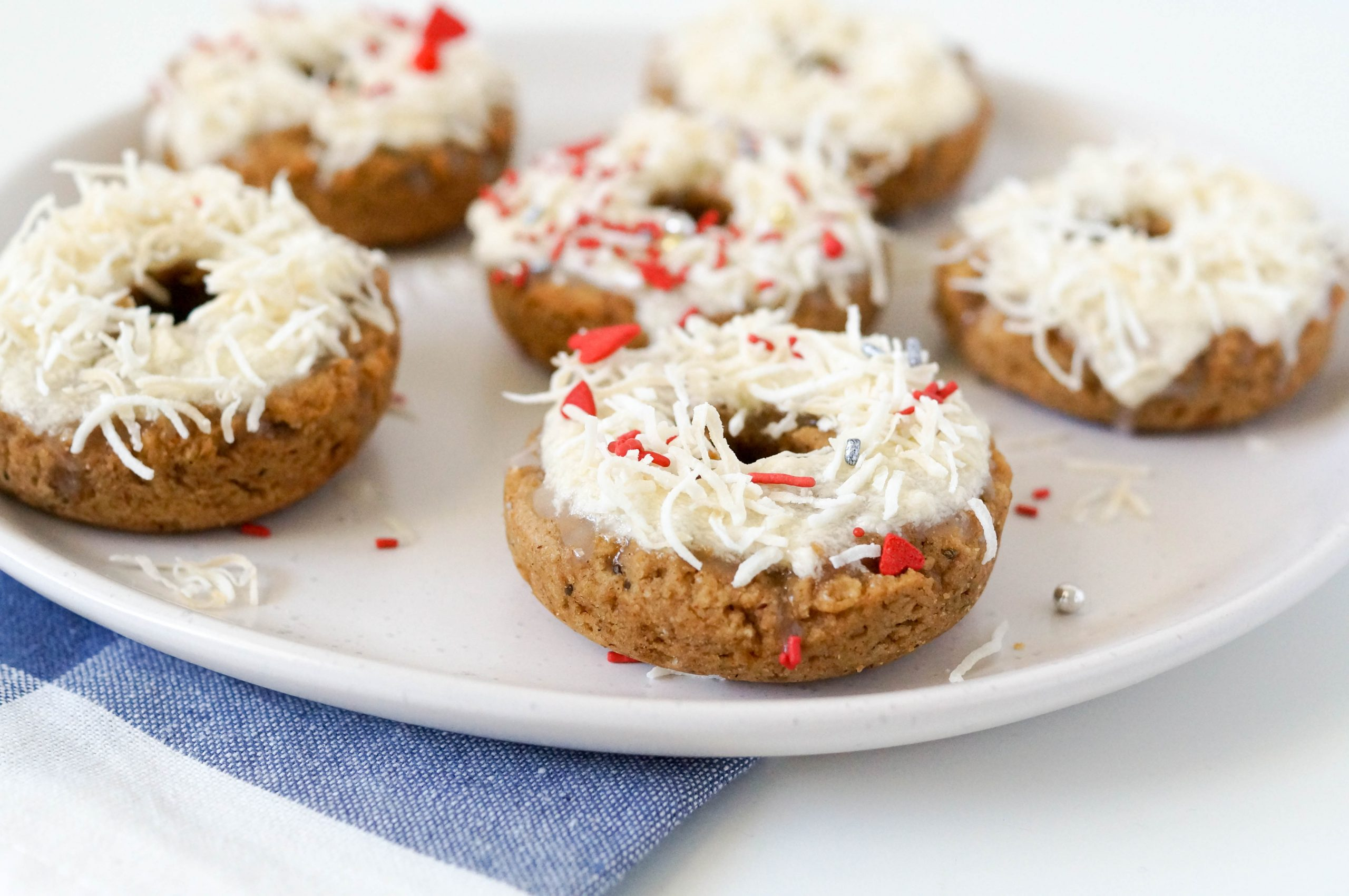 Vegan & Gluten-free Coconut Doughnuts