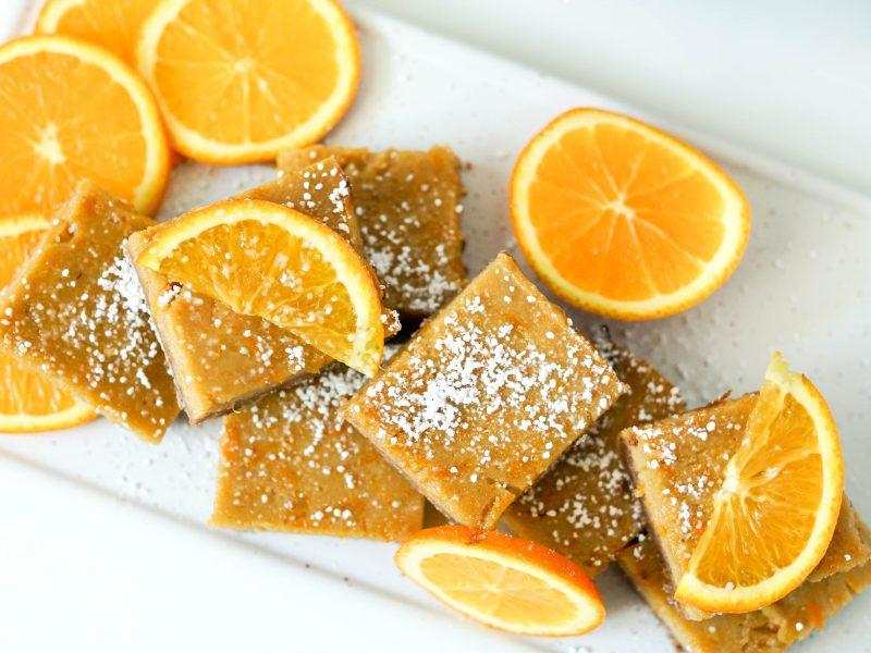 Easy Gluten Free Orange Squares
